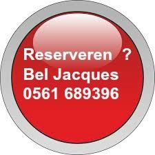 rode knop Jac wit
